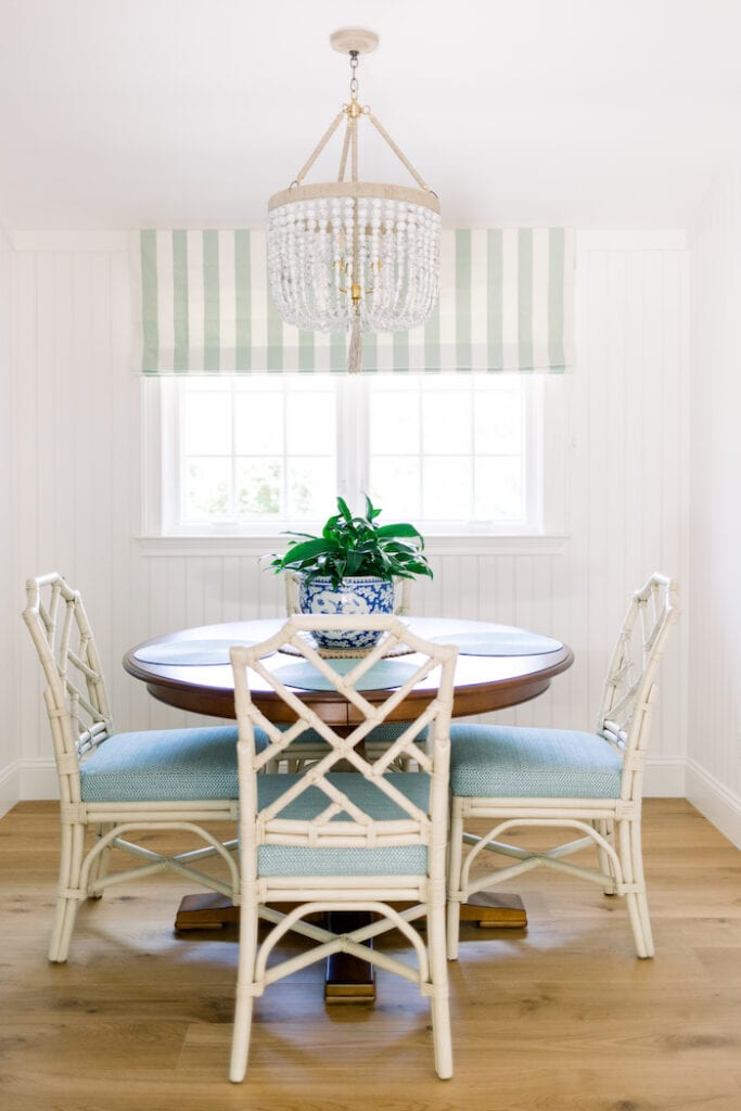 coastal dining nook