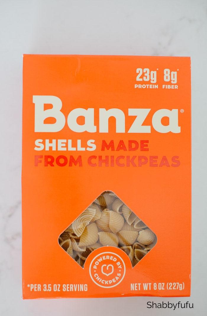 Banza chickpea shells