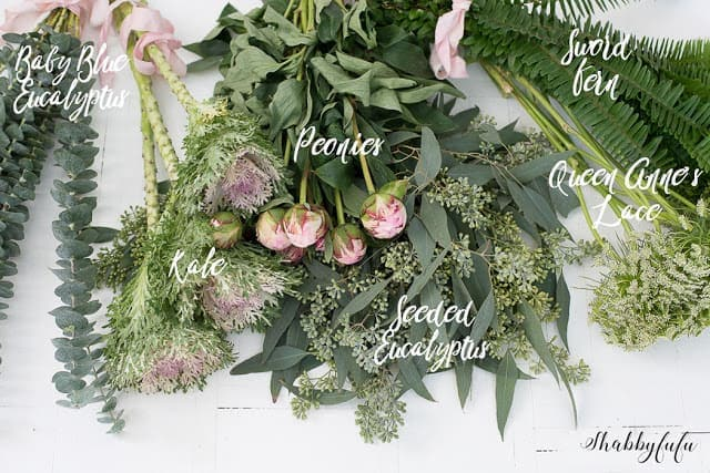 how to make a wild flower arrangement