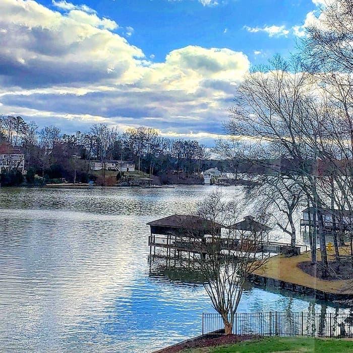 dock at Lisa's home