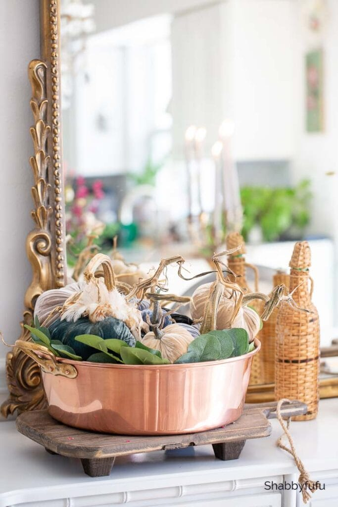 French copper confiture pot shabbyfufu