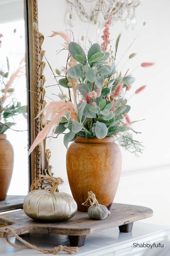 dried flowers for fall decorating