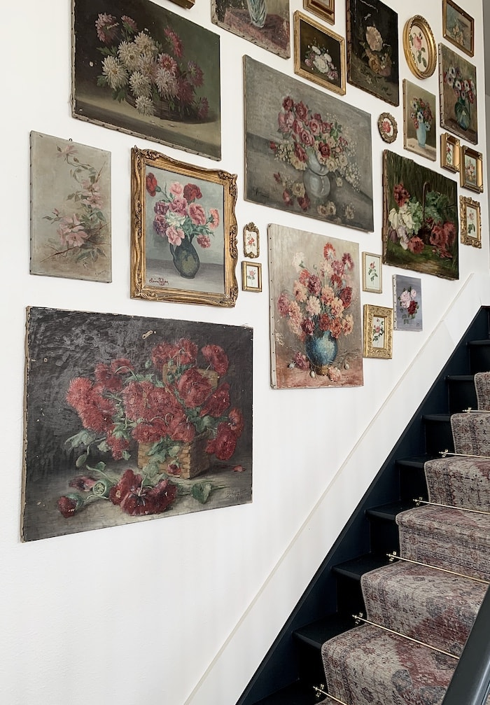 antique victorian rose prints collection