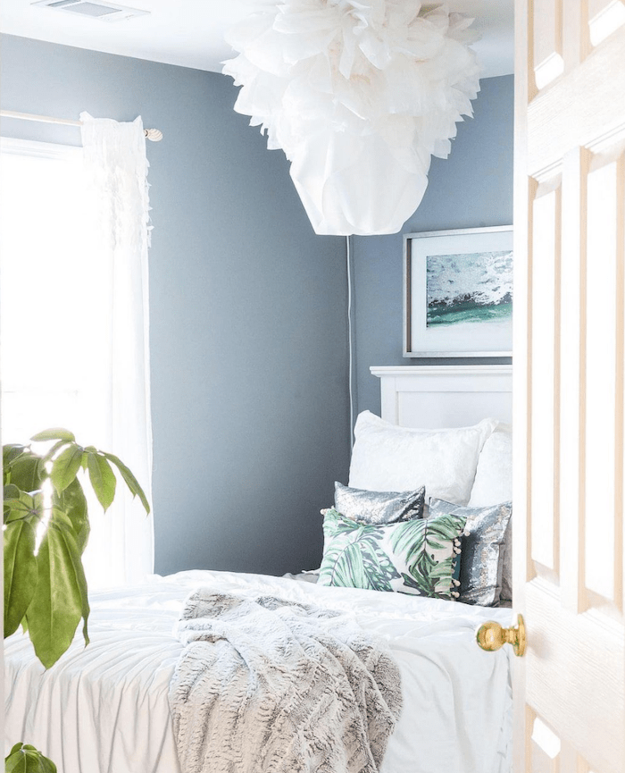 Fall glam home tour daughters bedroom