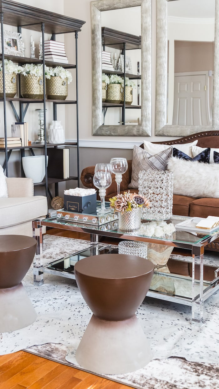 Fall glam home tour House Of Quiana