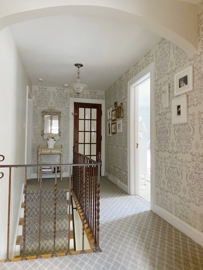 French style hallway with casual elegance