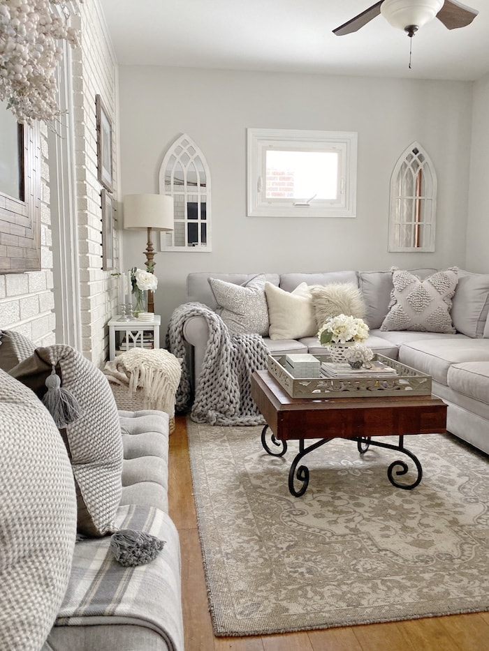 casual elegance family room