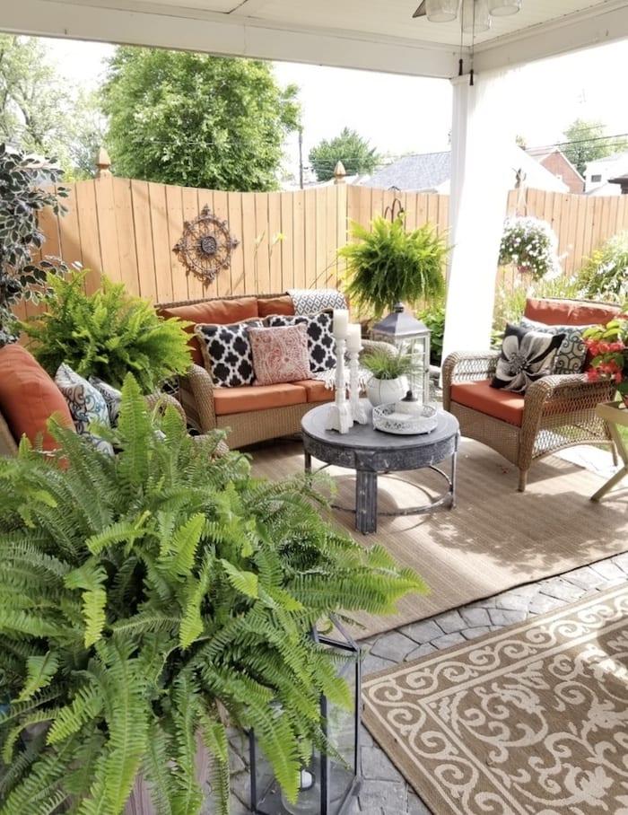 casual elegance patio
