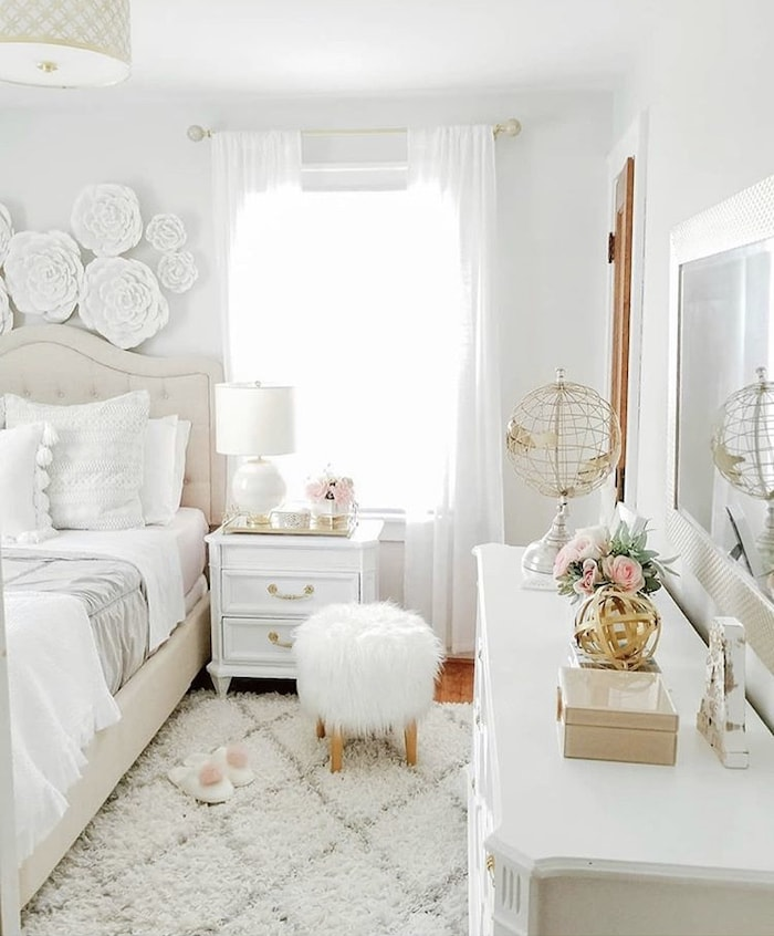 shabby chic teen room
