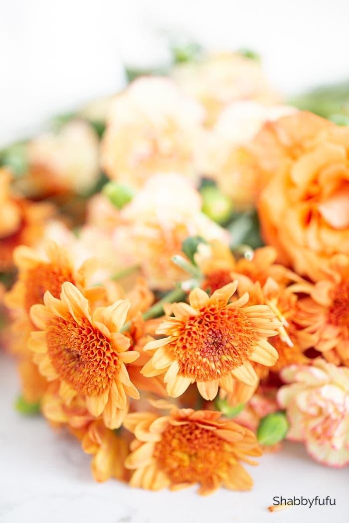 flowers for floating garden centerpiece