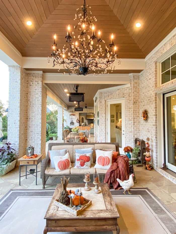 back porch open house tour