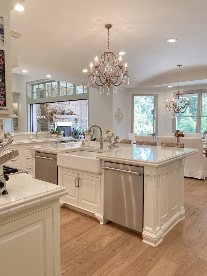 double dishwashers open house tour