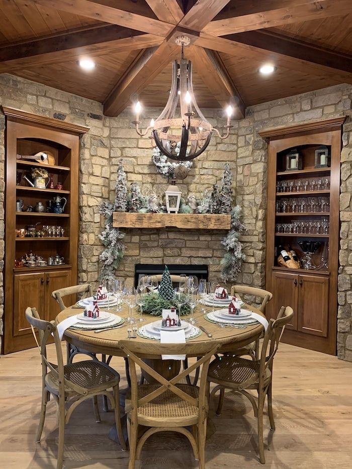 French wine room