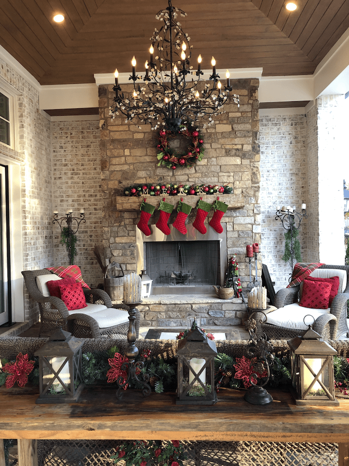 Christmas hostess today open house tour