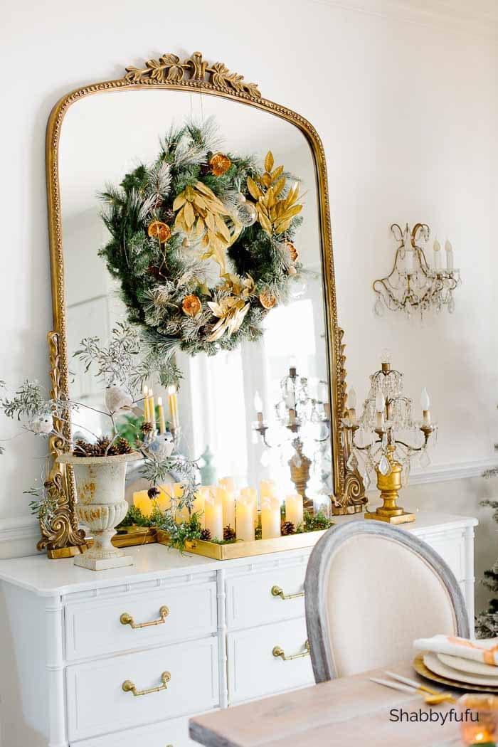 Shabbyfufu 2020 Christmas gold decorating