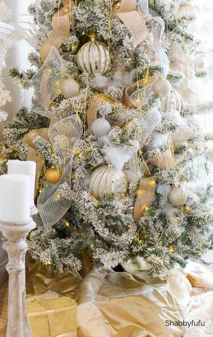elevated elegance decorating Christmas home tour Shabbyfufu 2020
