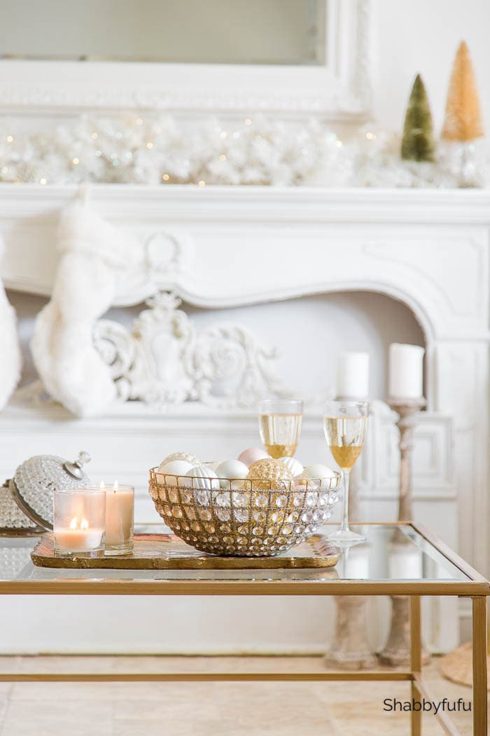 Shabbyfufu | Christmas Living Room - Elevated Elegance
