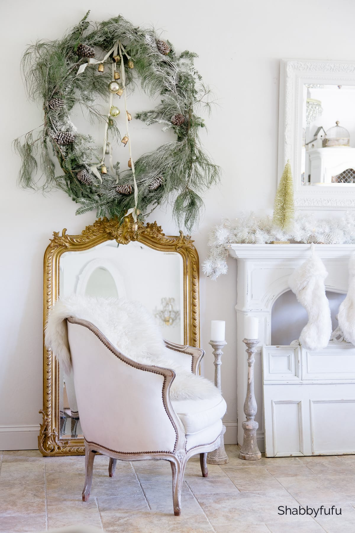 Make A Christmas Wreath From Free Tree Scraps