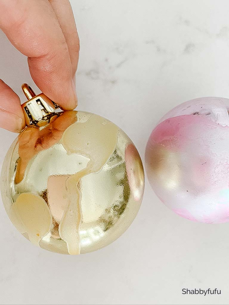 new Christmas ornaments with a vintage look