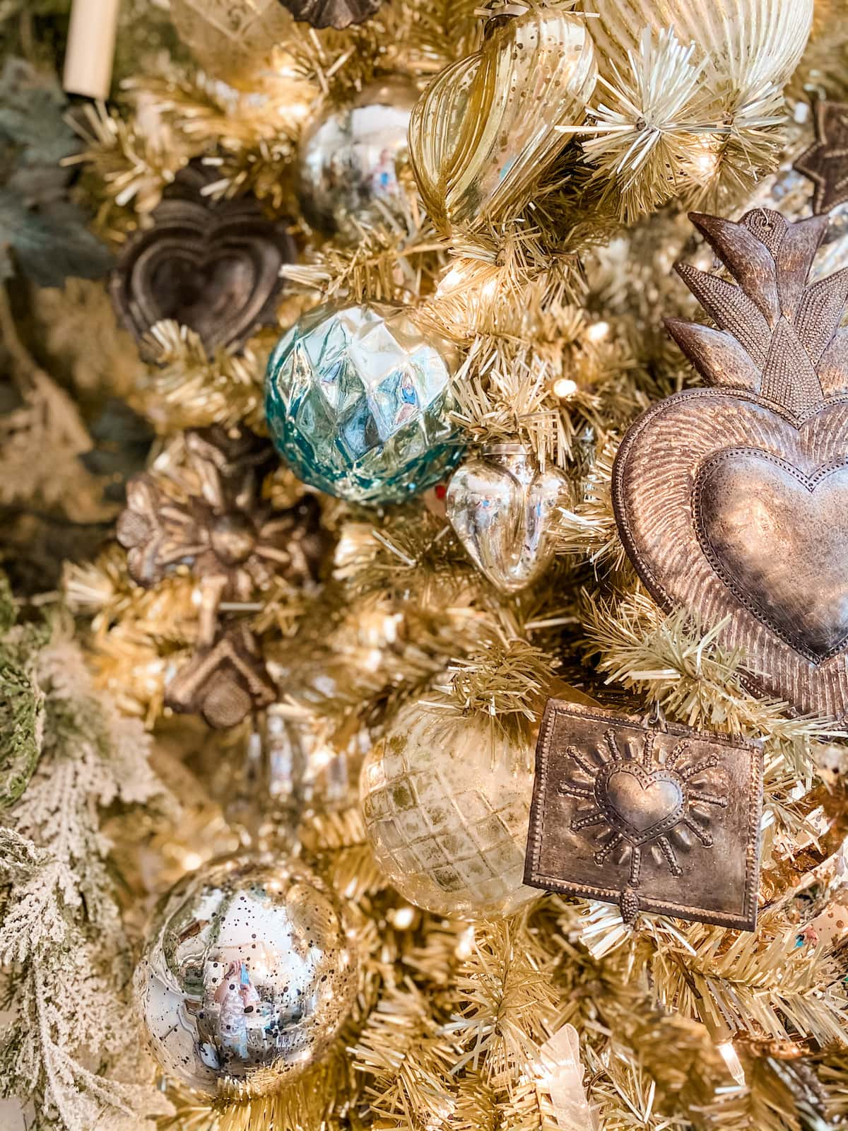 vintage French Christmas tree