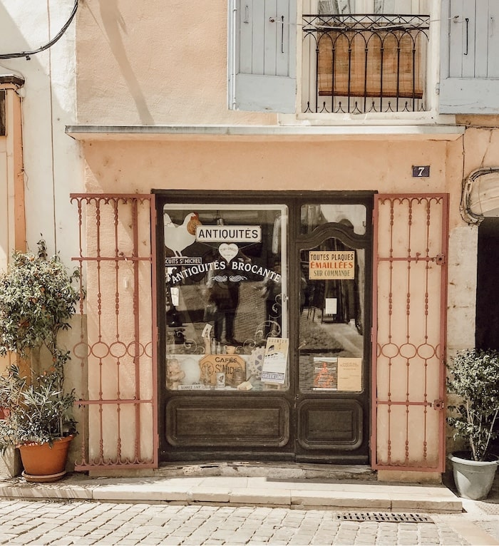 shop in Provence French style home tour