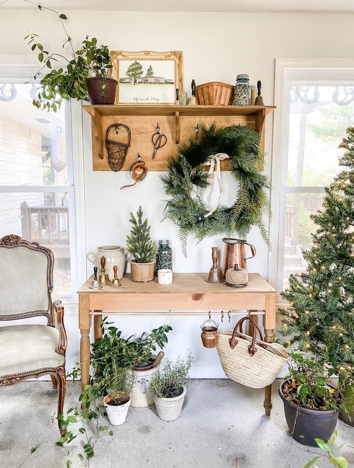 French farmhouse Christmas