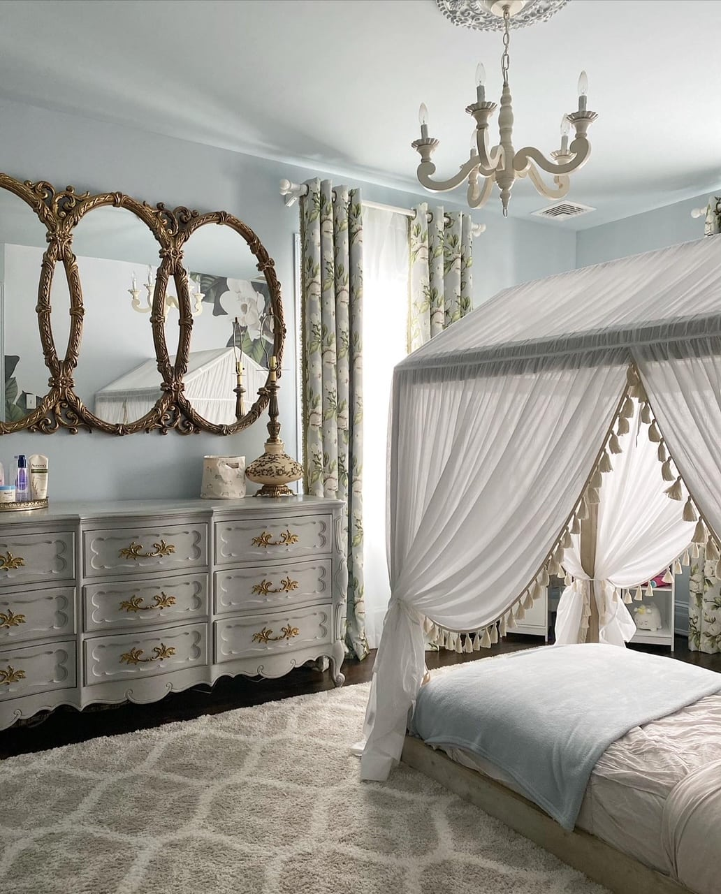 before and after room makeovers french style bedroom