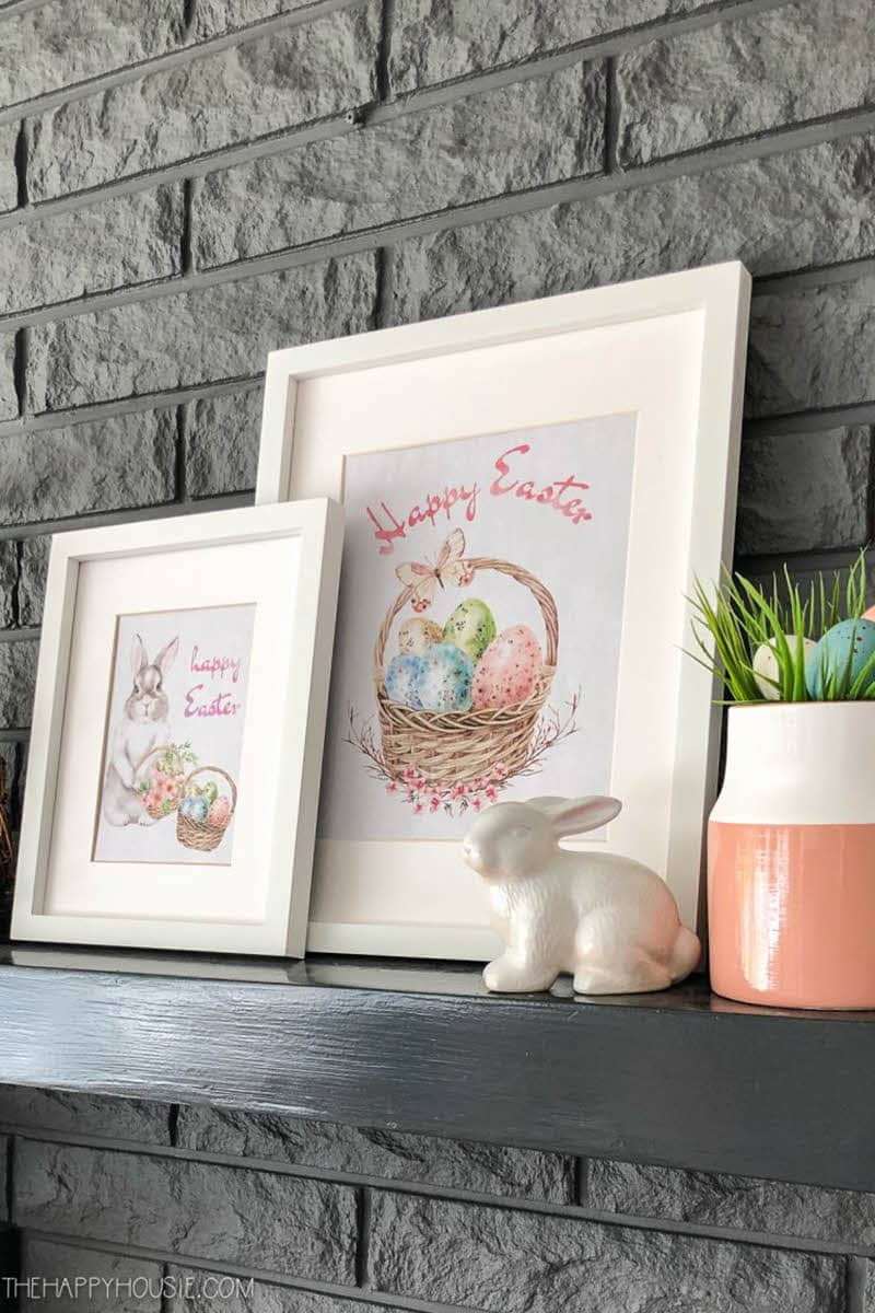 free set of printable Easter wall art