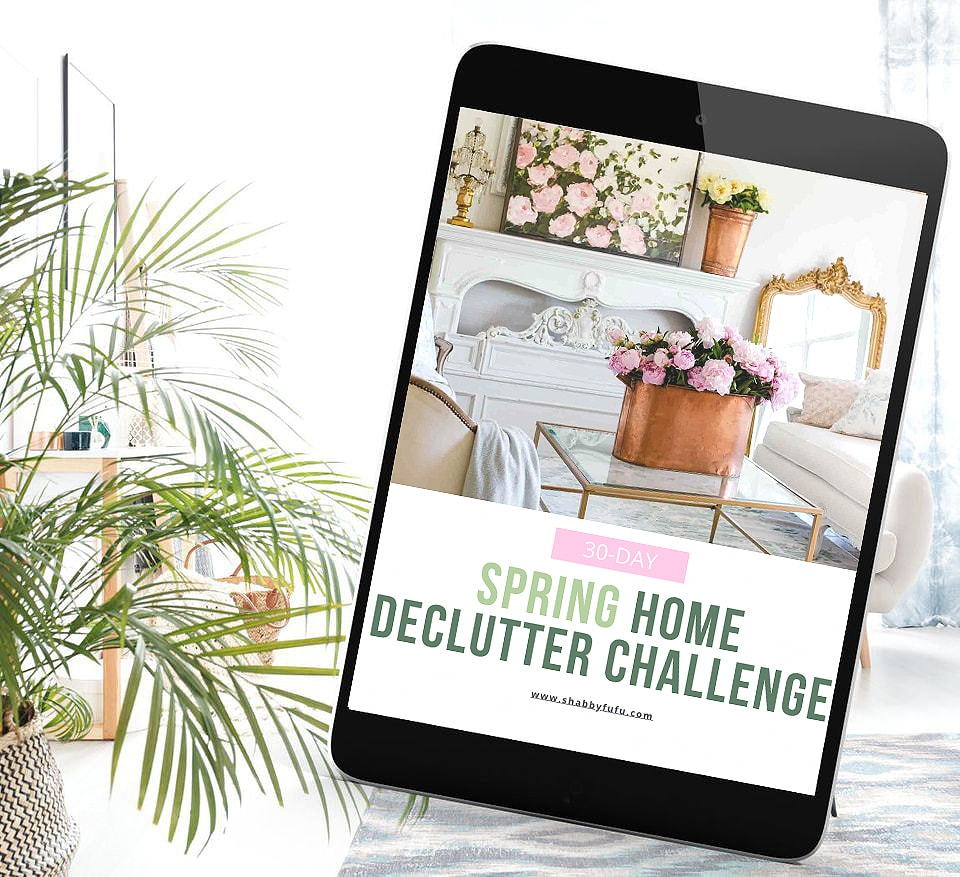 spring home decluttering guide Shabbyfufu