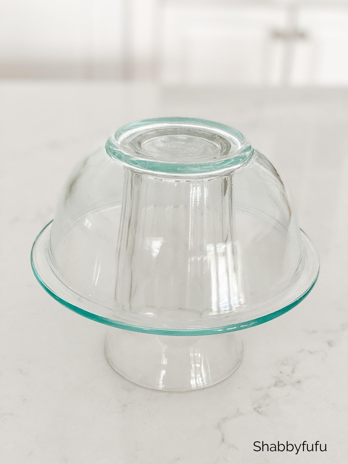 ruffle bowl diy glass bowls