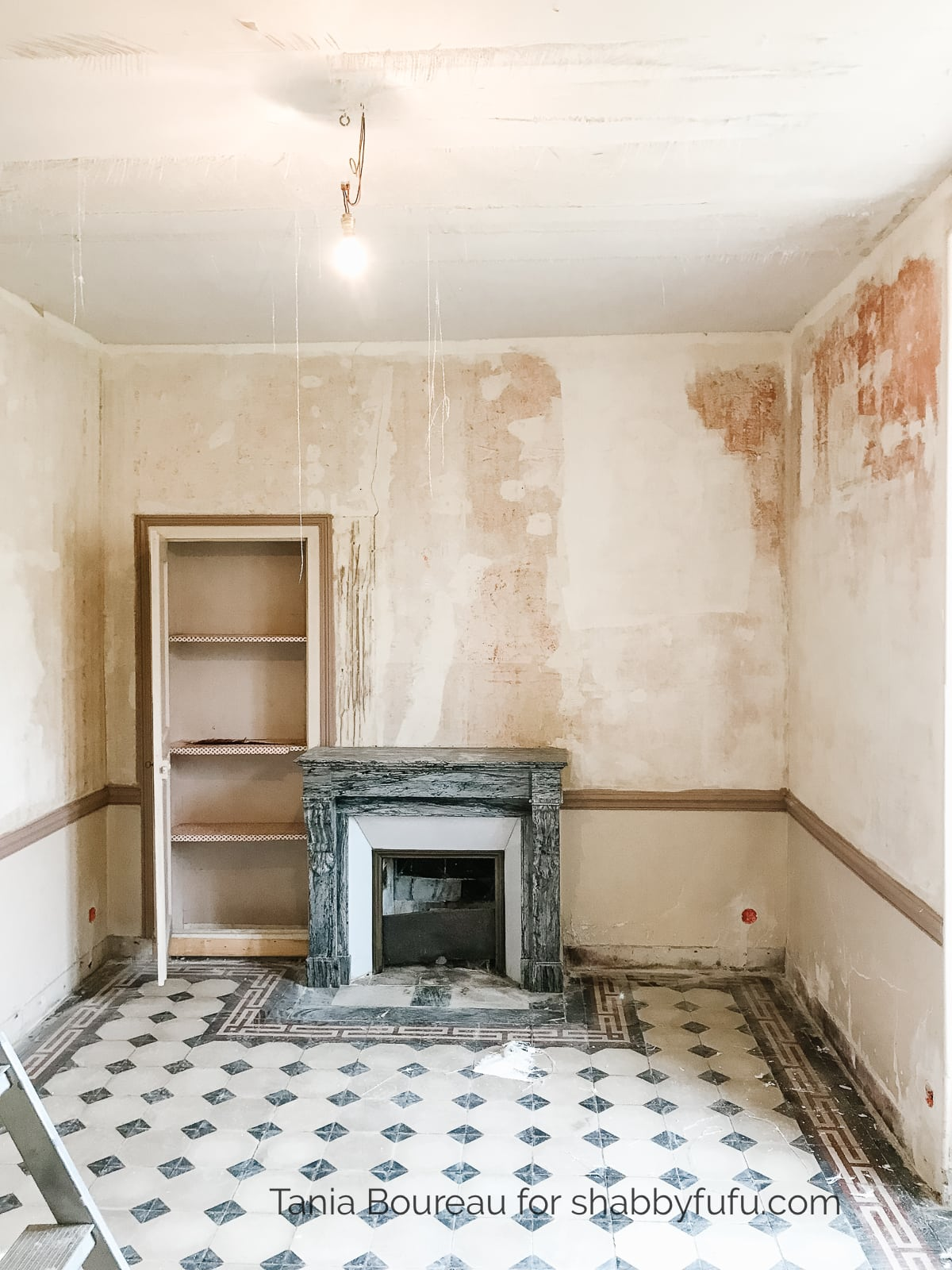 renovating an old home in France