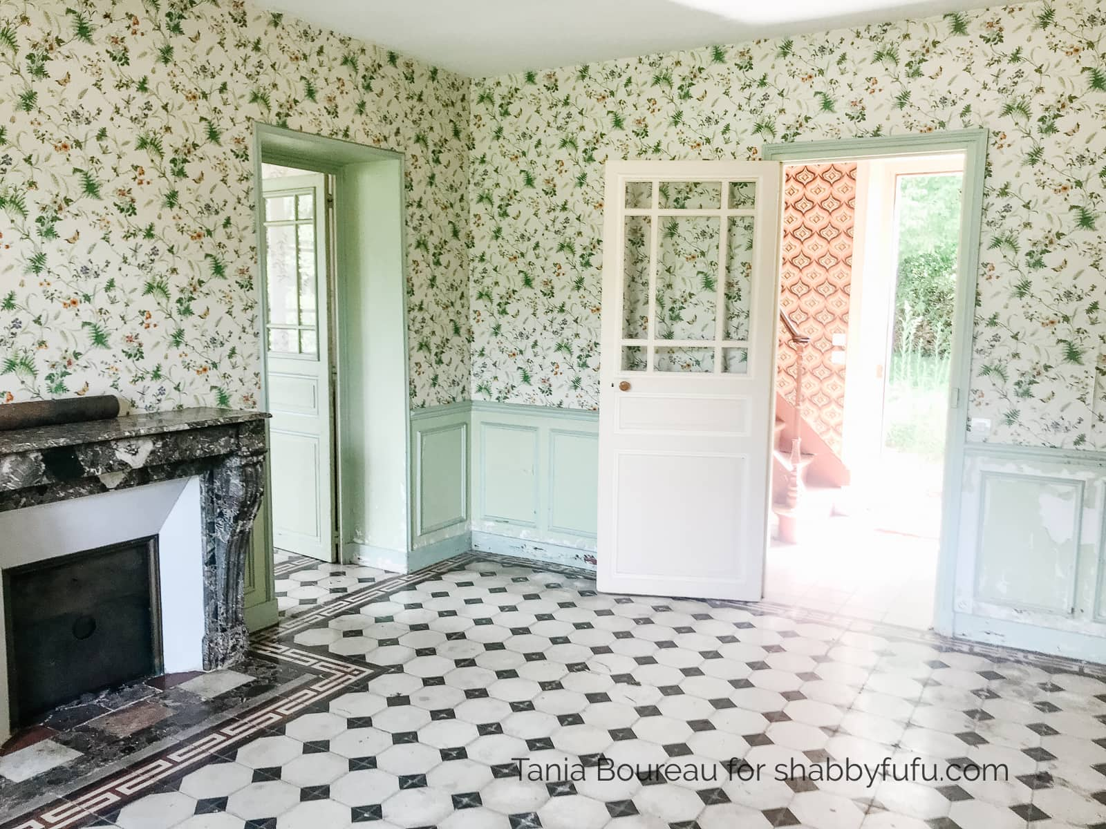 French country house tour before
