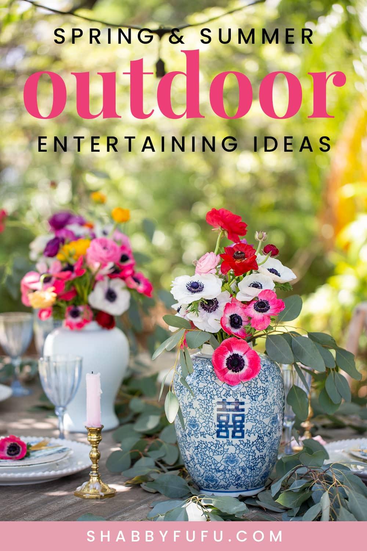 Shabbyfufu - Mothers Day Celebration Ideas Outdoors