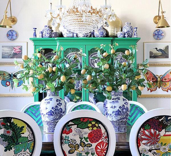 grandmillennial dining room