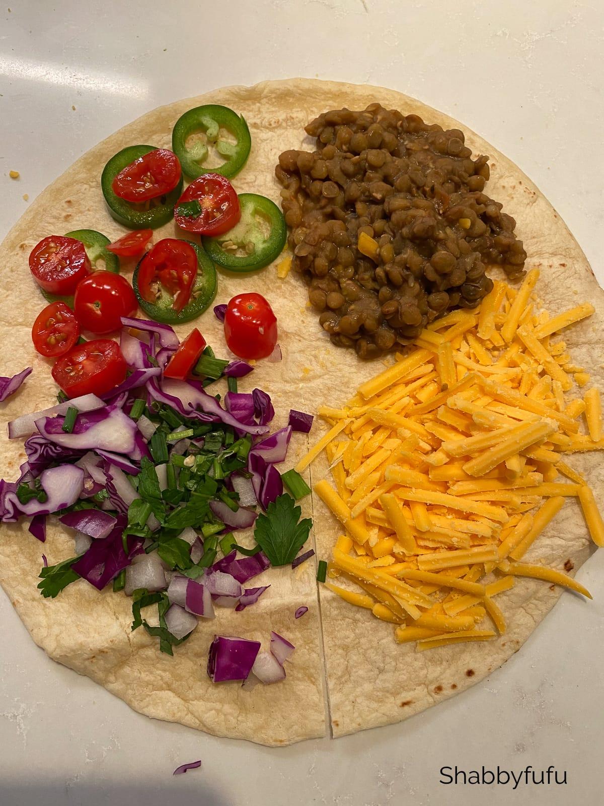 Ticktok burrito vegan style