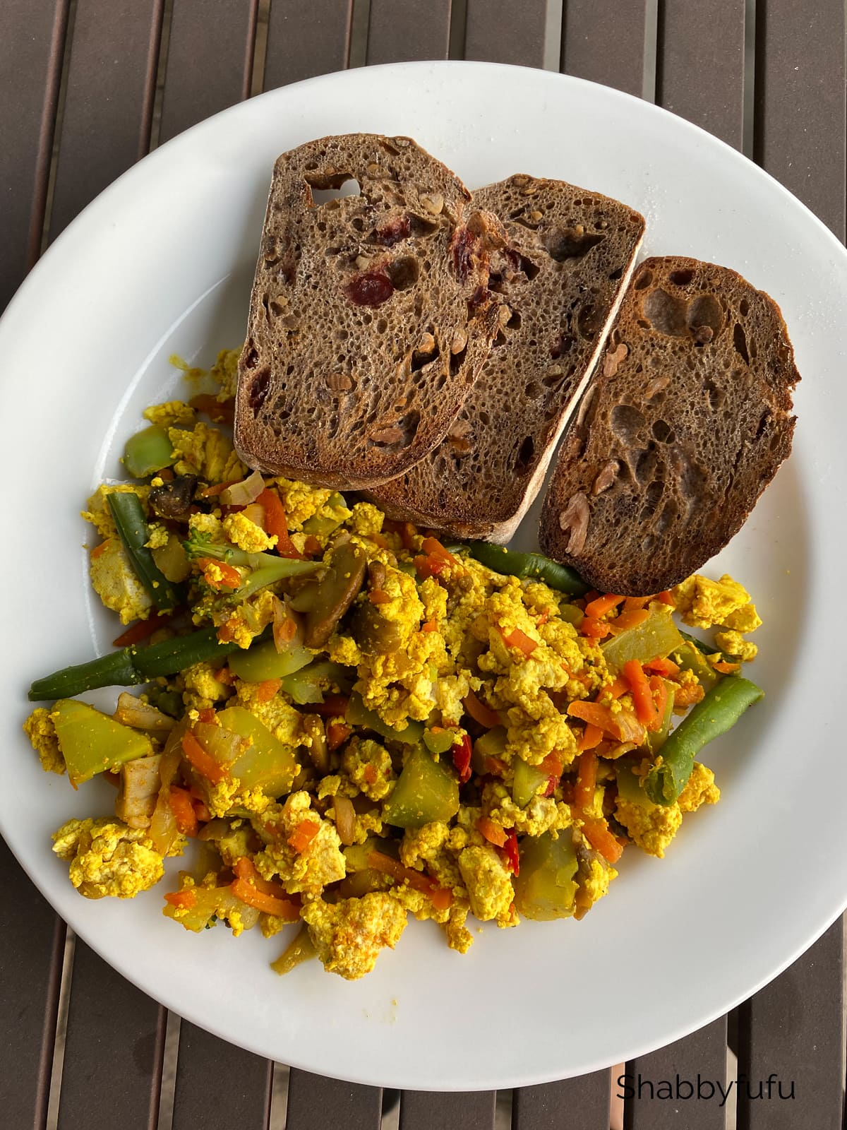 how I lost 25 pounds on a vegan diet tofu scramble