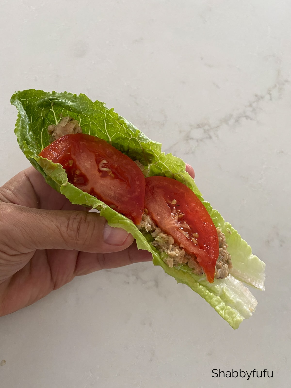 """Chickpea """"tuna salad"""""""