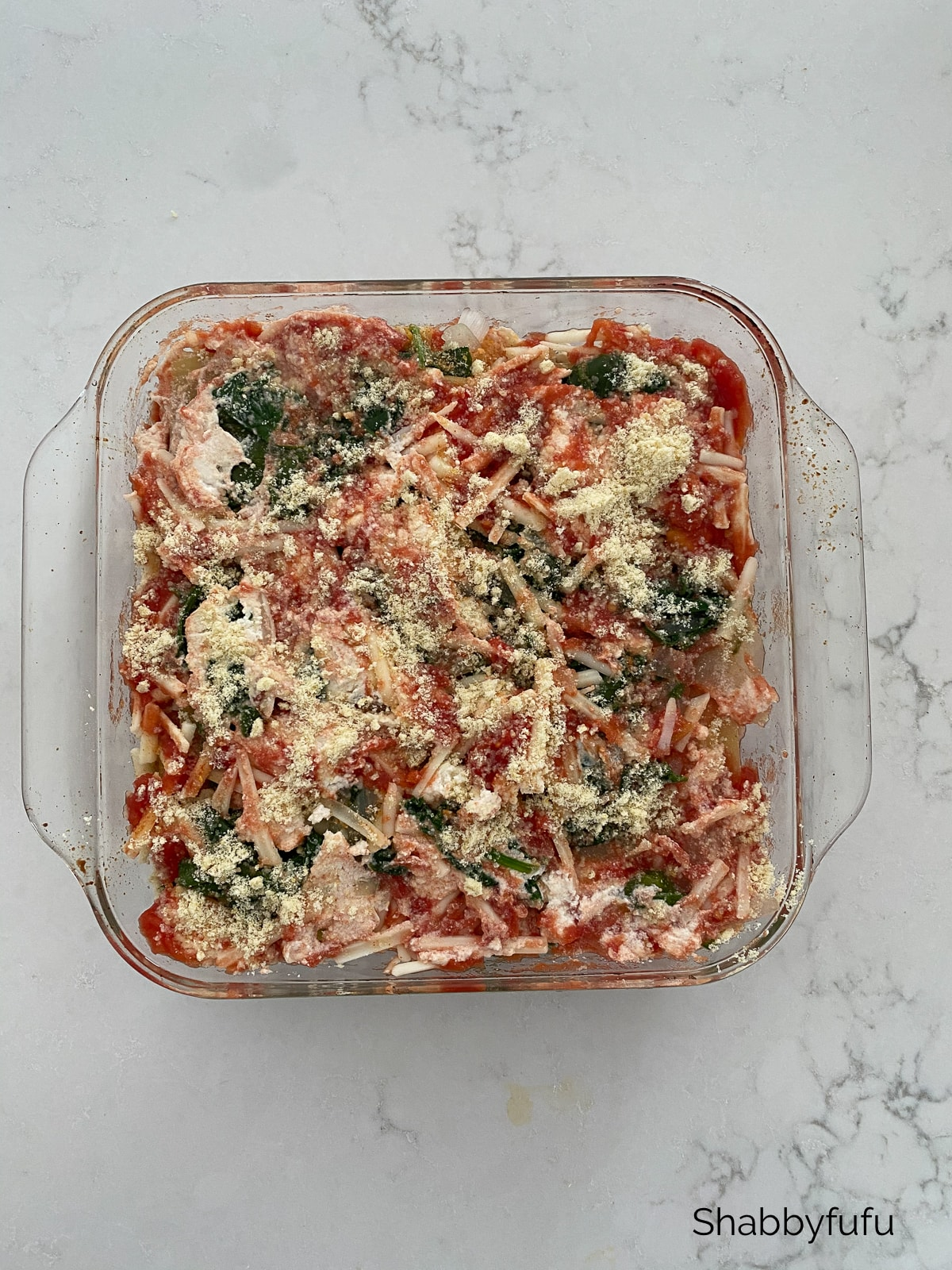 The BEST vegan lasagna that I've perfected!