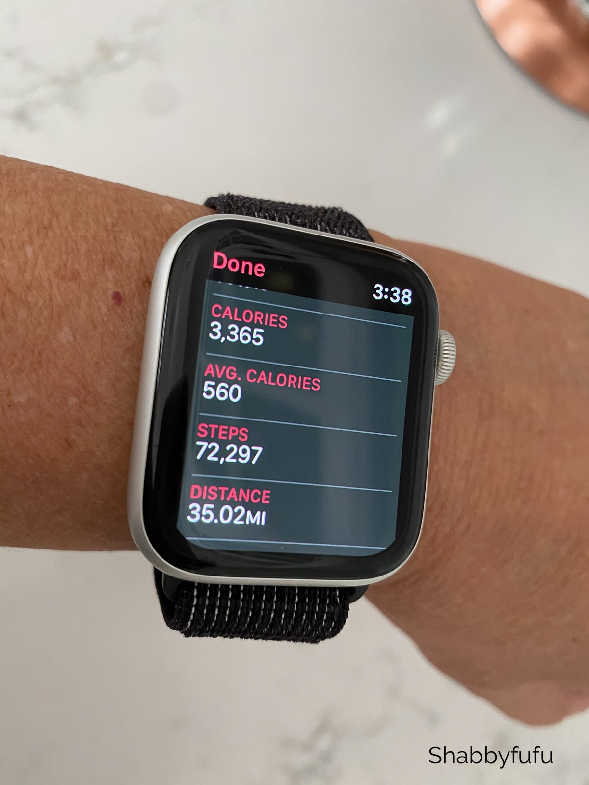 how I lost 25 pounds Apple Watch