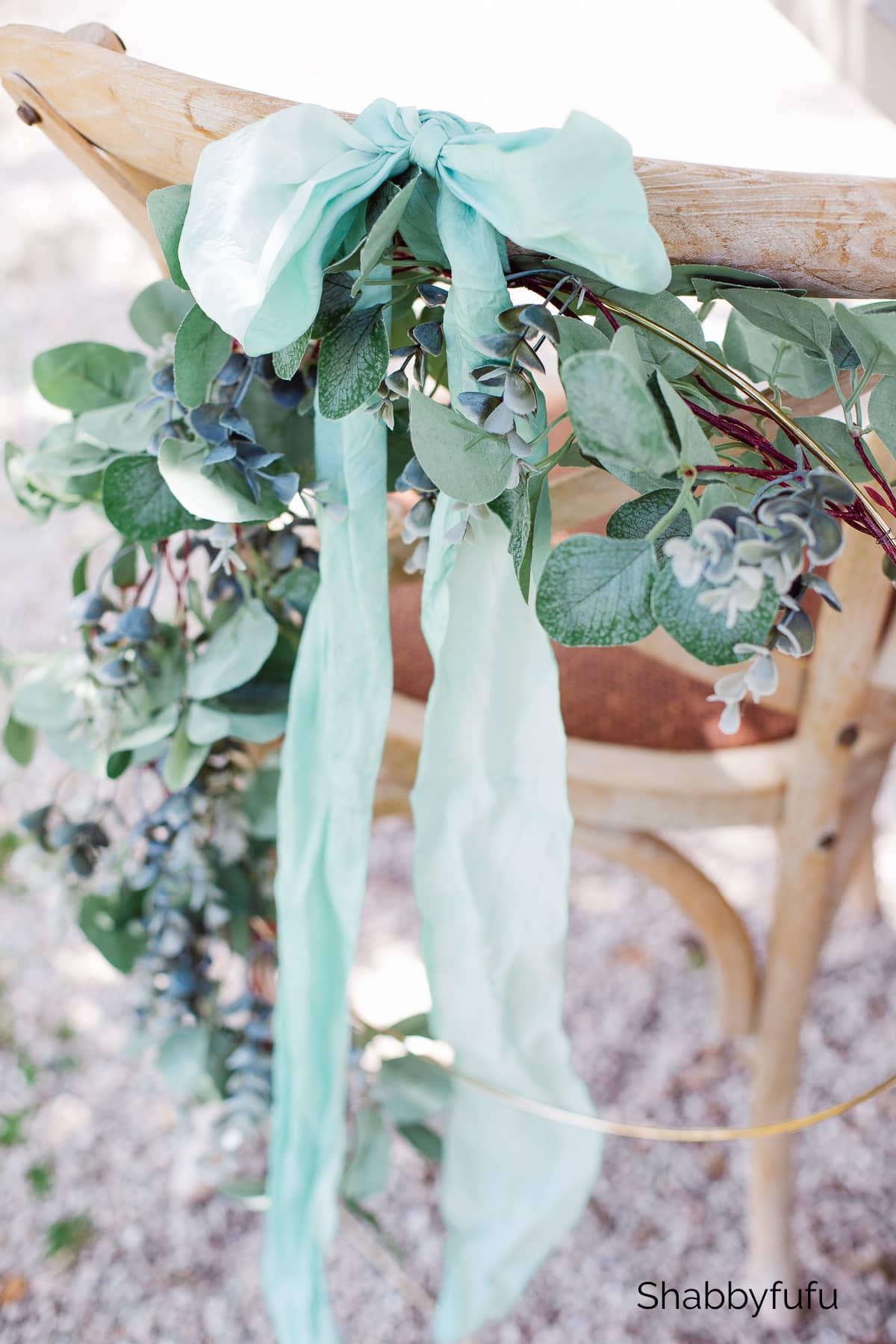 gold hoop ring wedding ideas