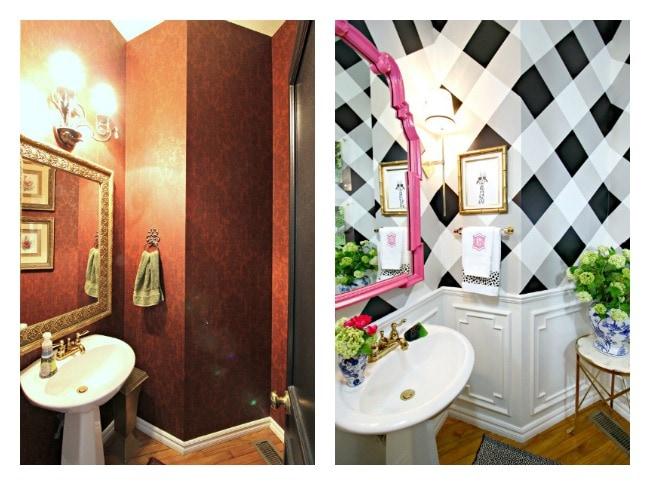 Powder Bath - Before & After!