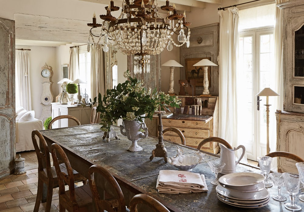 refined French interior