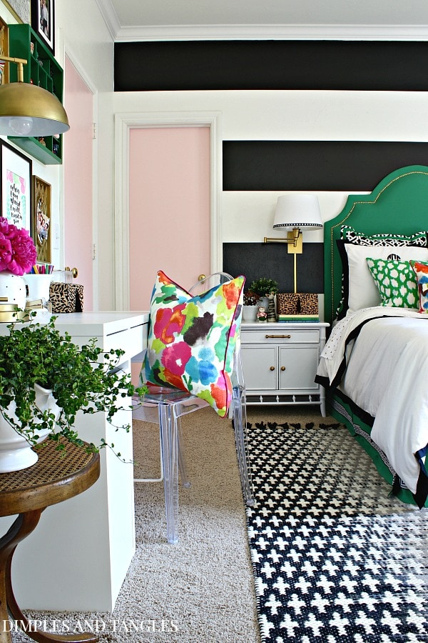 Girl's Room colorful creative chic home