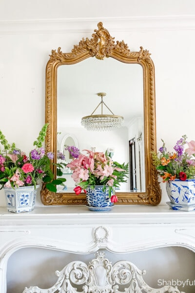repurpose flowers indoors