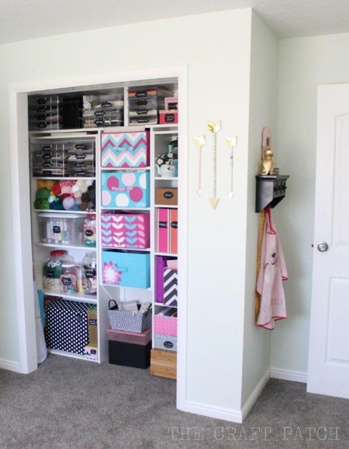 after storage closet crafter room