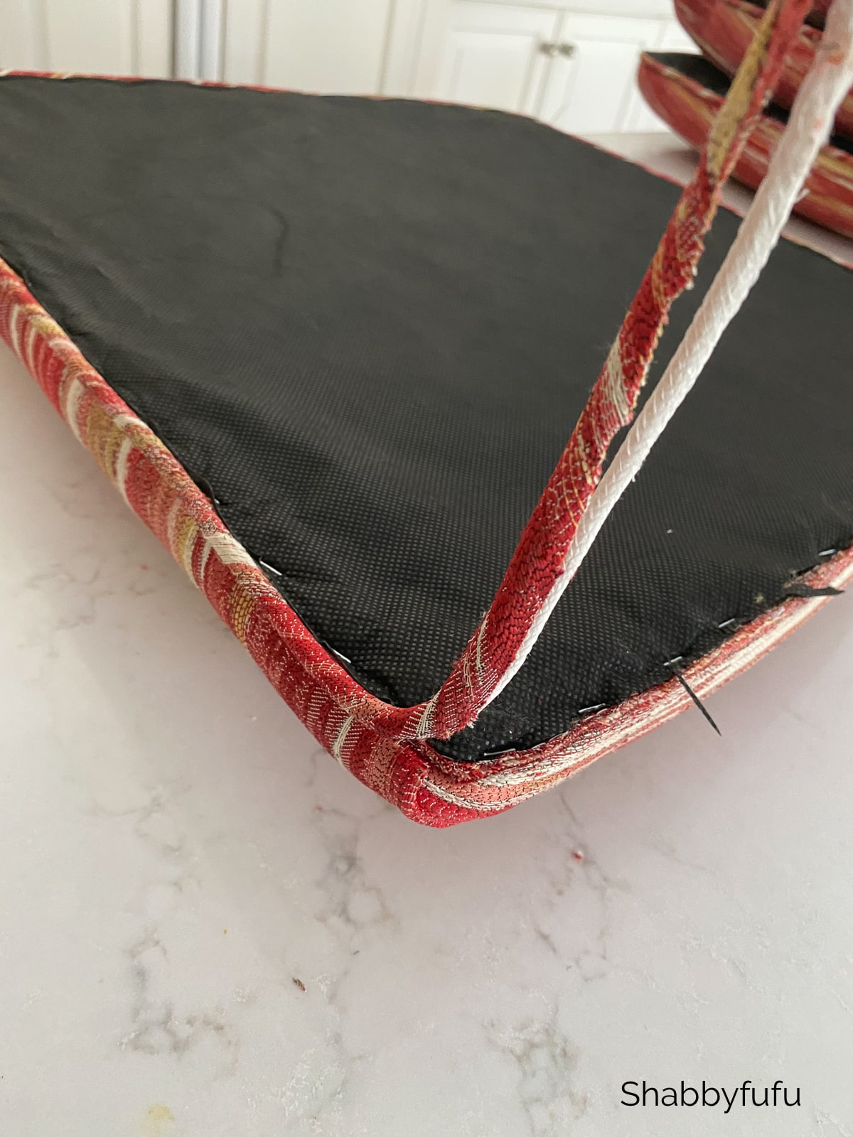 removing piping from a chair