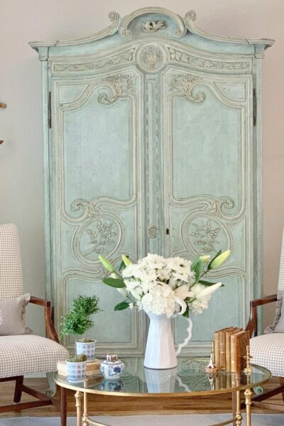 French country style home tour great room