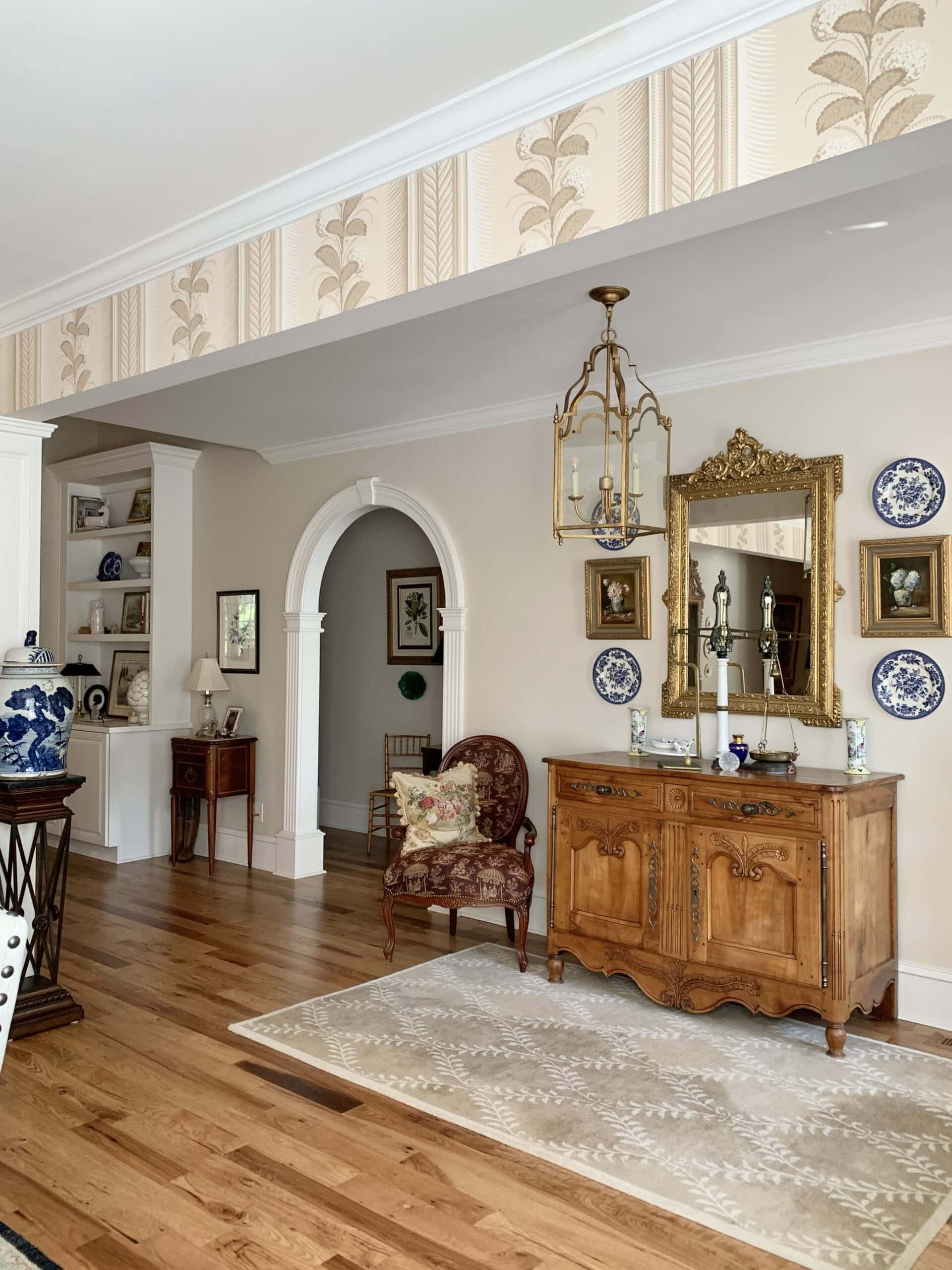 French country style home tour dining room