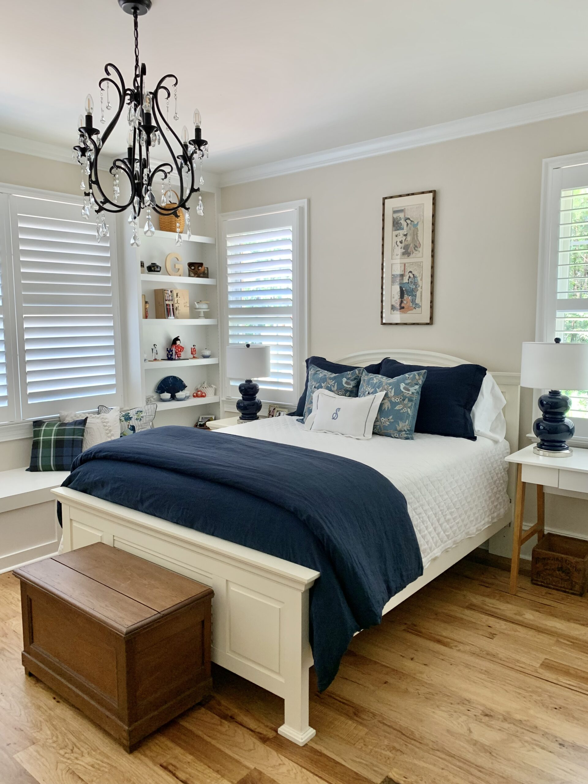 French country home tour granddaughter's room