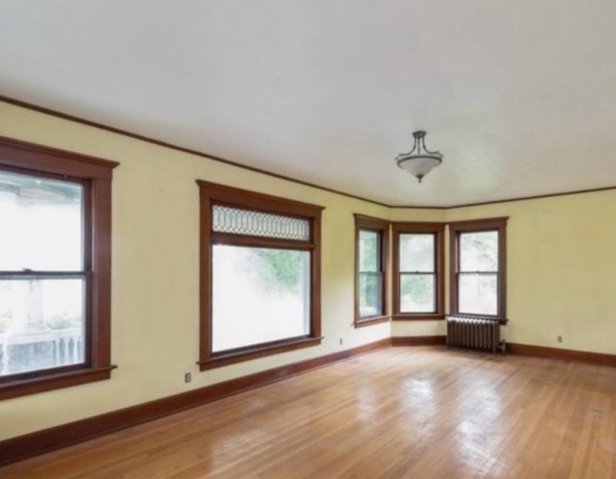 historical new york farmhouse during makeover process